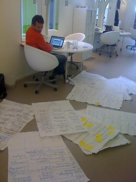 Great collegue Friend Peter enjoying his work
