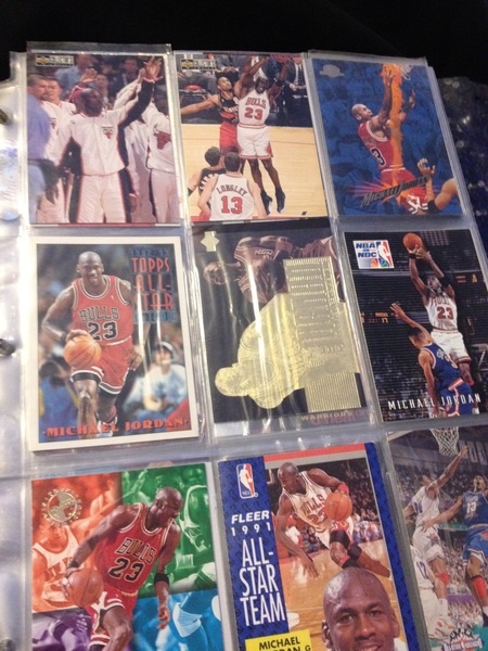 all star weekend gets me hyped up... lookin through my old collection..