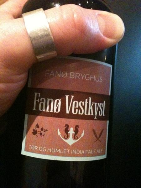 Fano vestkyst moet wel betekenen 'life is good in Copenhagen' #denkik