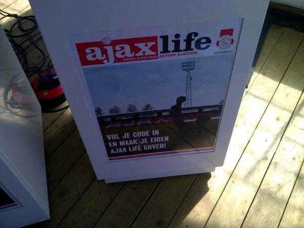 De Meer is er niet meer, maar vandaag kun je in het oude stadion op de foto! #ajaxopendag