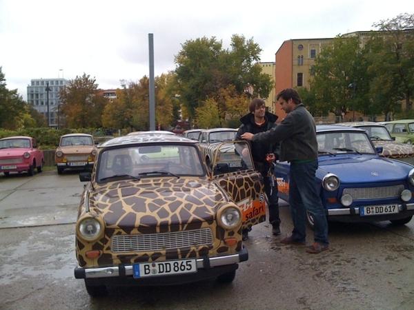 We are going on Trabi Safari!