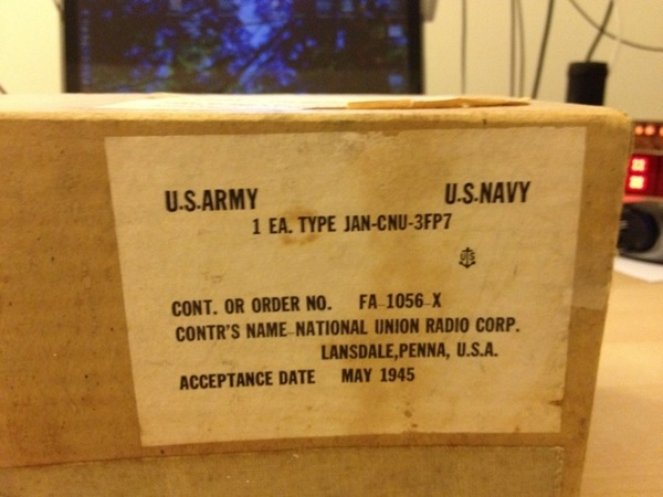 My new gadget from 1945 just came