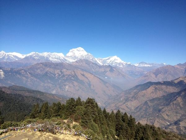 Poon Hill #AnnapurnaTrek #Nepal