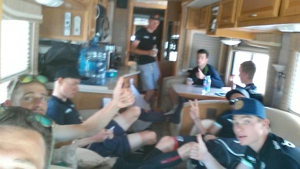 Road trip to Cedar City. #TourofUtah here we come! @TeamBelkin