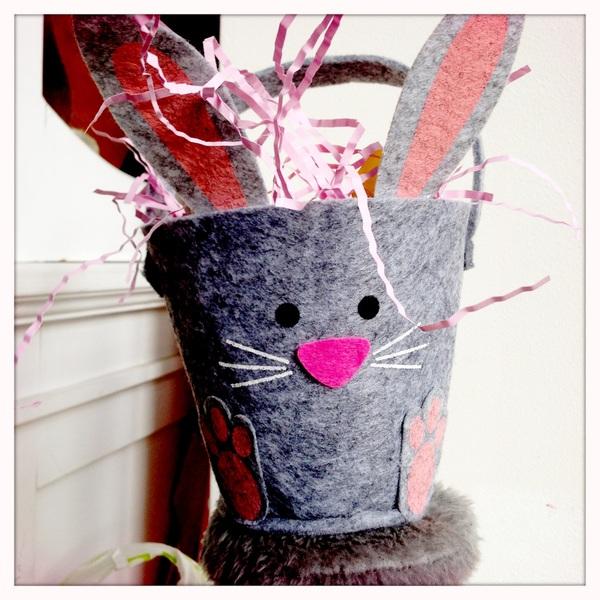 Fletcher's Easter basket