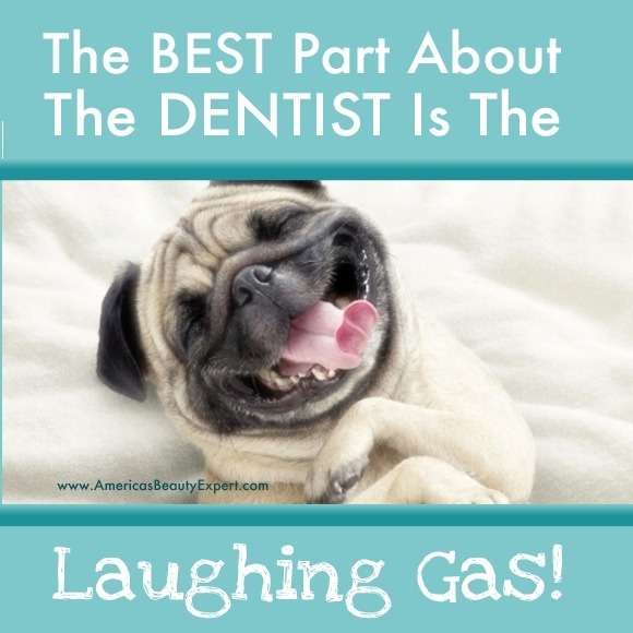 Haha! Love #laughing gas when you go to the #dentist? Find out what why it works: http://bit.ly/1f2xljO #Dental #Health #Tip