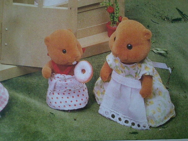 Sylvanian families give me the fear. Something about anthropomorphic plush beavers is disturbing.