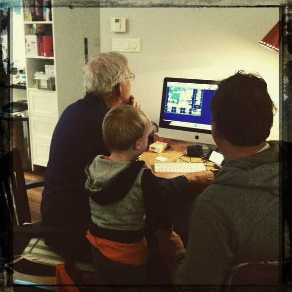 Fletcher of the day: Opa and papa