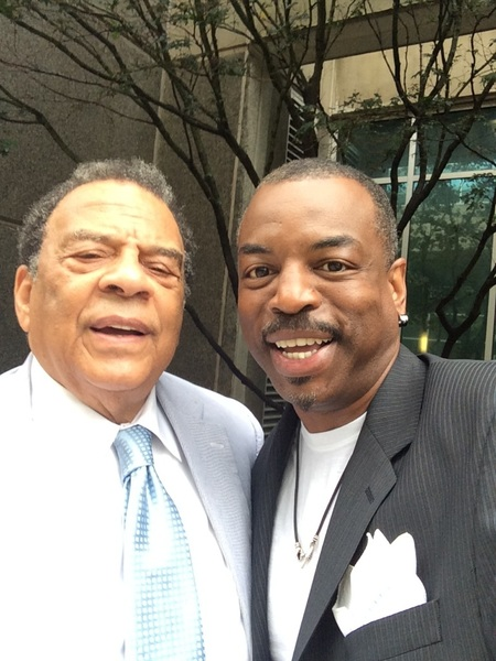 On my way out of Atlanta I ran into the estimable Andrew Young… bydhttmwfi