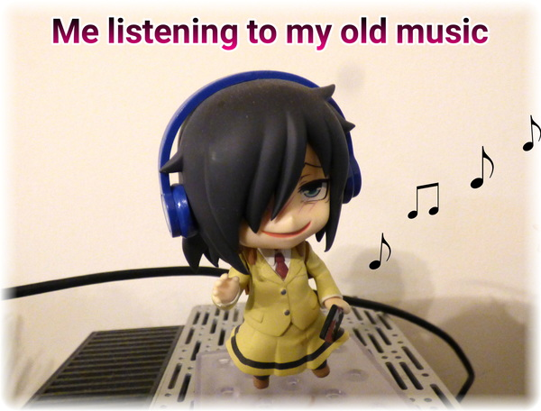 My face when I start listening to my old playlists. #Watamote