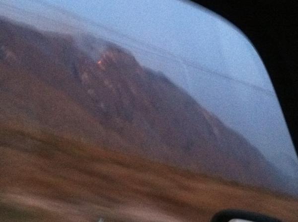 Quien apaga el fuego en las montañas ?? Me da tristeza verlo
