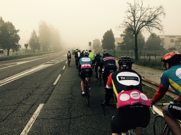 50kms down and rolling well  #MAPIC  @seanc_marketing @cycle_to_events @b1kerunswim @Inn_Tweets @MIPIMWorld  #MAPIC