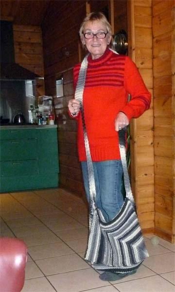 Weer een tas klaar, nu nog krimpen :-)