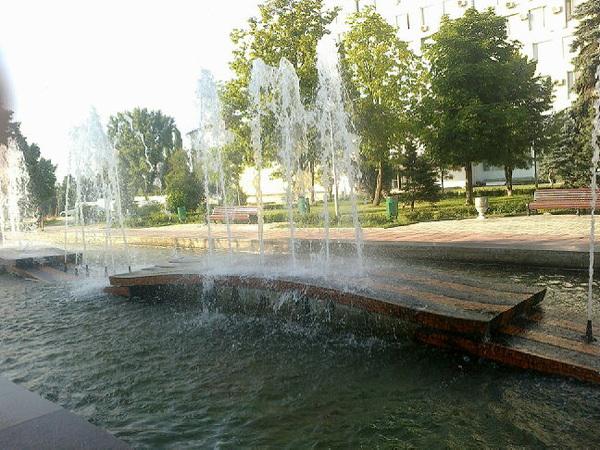 О фонтан