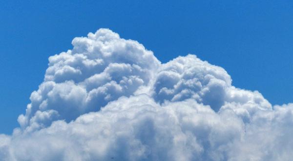 cumulus congestus #buienradar