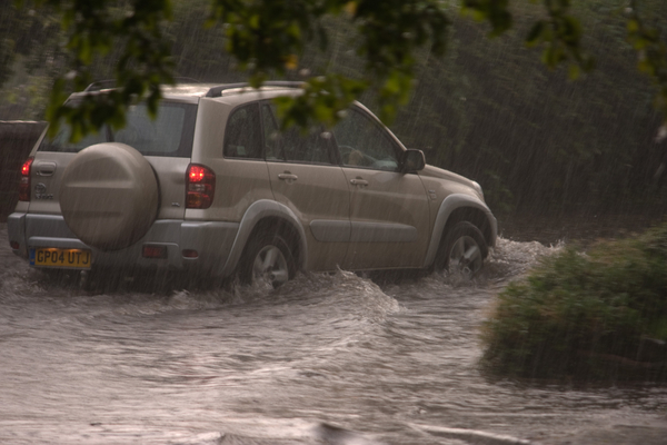 Biblical rain is biblical