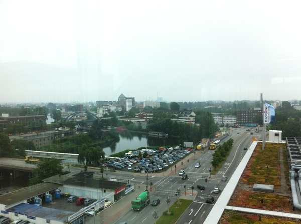 Über den Dächern der City Süd # Hamburg