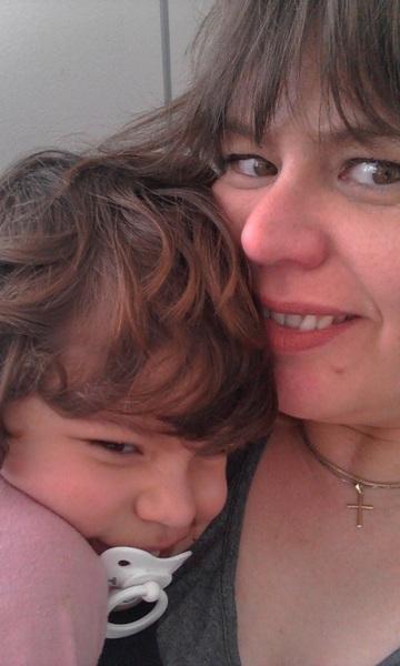 knuffelen met jongste :)