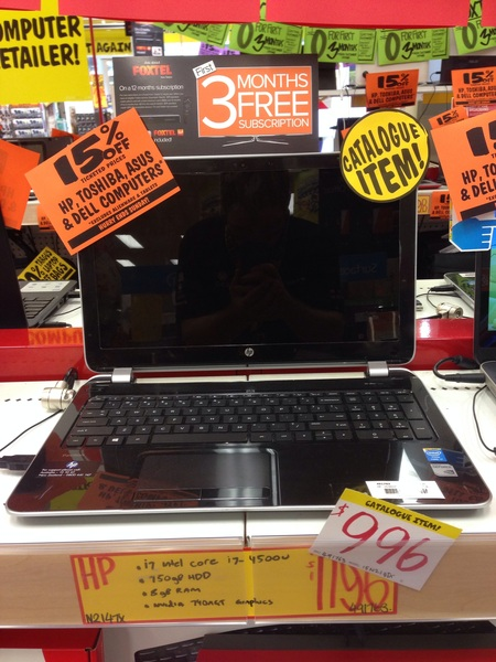 Pick of the litter. You even get 15% off till Sun on the already discounted #HP $996. $847.60 after all #discounts