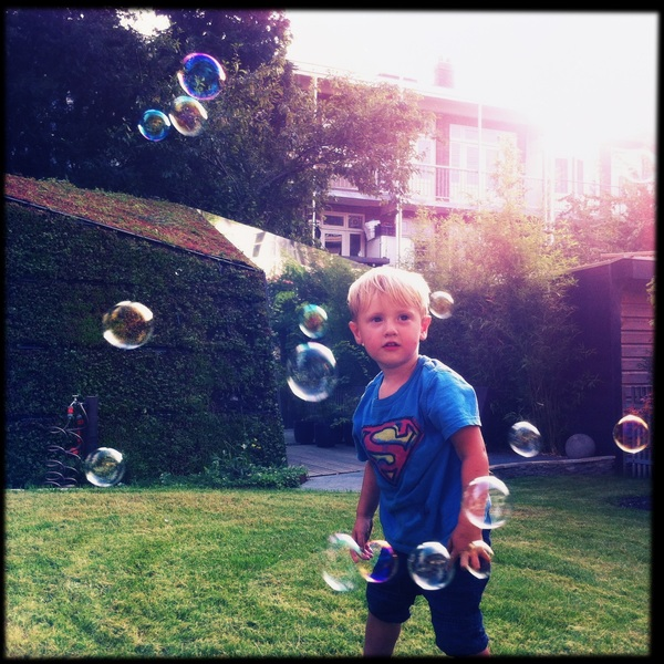 Fletcher of the day: bubbles