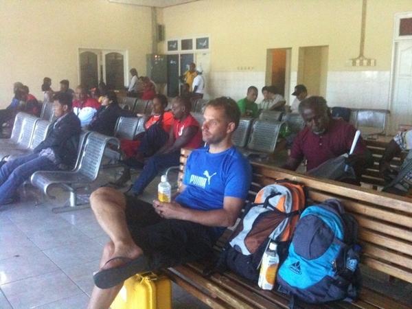 Nabire airport waiting room