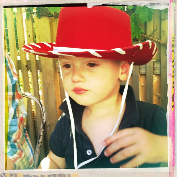 Fletcher of the day: Cowboy hat