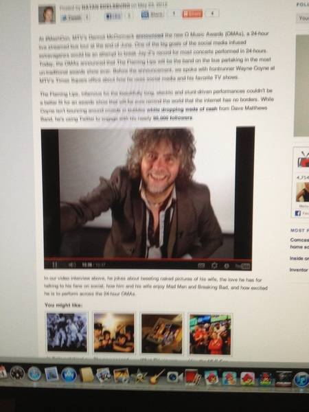 good interview @waynecoyne