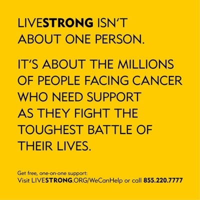 Believe in @LIVESTRONG because they are an impact  player vs. cancer, right @Oprah. #LIVESTRONG #FF