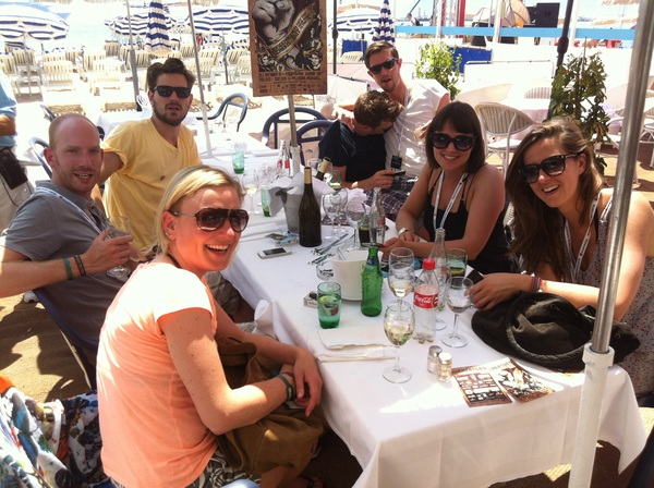 waking up with the Dutch Young Creatives #canneslions
