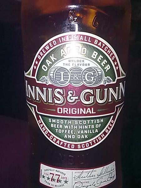 An Innis&Gunn Friday