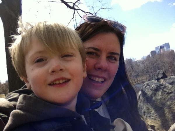 Me and  Fletcher at Central Park