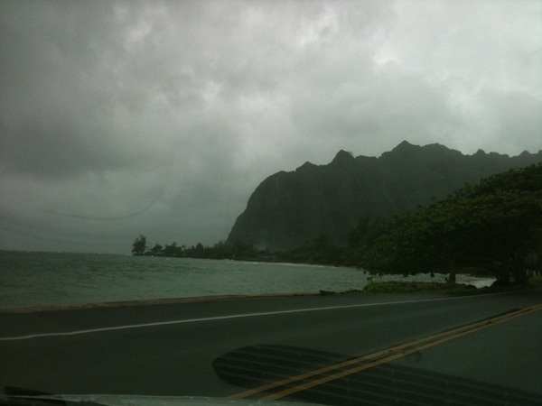 North shore of #O'ahu is insane! So gorgeous! But the East side of the island Is my favorite! @startuphi #Hawaii