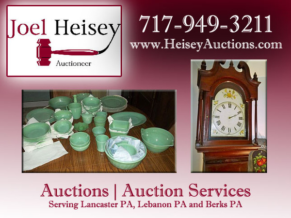 Auction Services Lebanon PA | Auctions