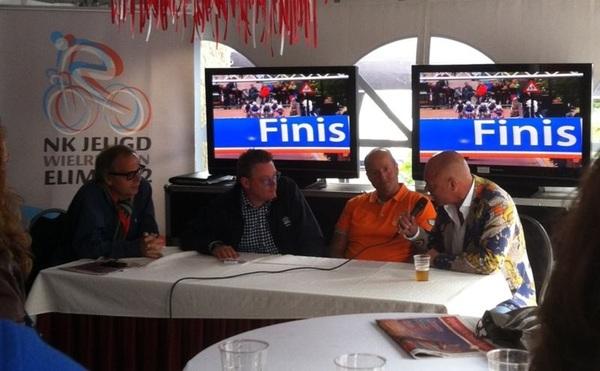 Even in het forum optreden met @speakerjannes en @jaapstalenburg mooie dag #nkjeugdelim