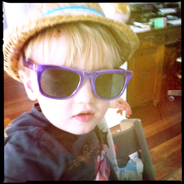 Fletcher of the day: ready for the Cali sun
