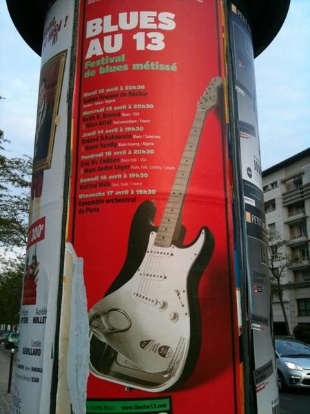 Joli boulot Photoshop pour ce festival de blues! La Stratosardine!