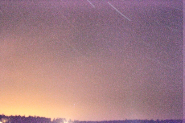 Not cool. exposure of 45 minutes. and then the clouds came in. #killalypoint
