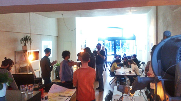Middag brainstormen met de girls en boys van @i_turn_it over IT, jongeren, aansluiting werkveld Noord NL