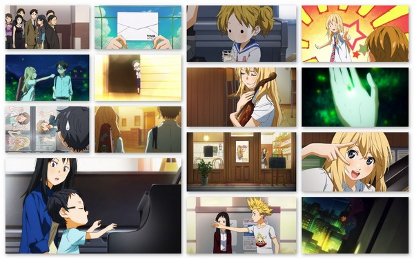 #YourLieinApril ep11 collage #anime