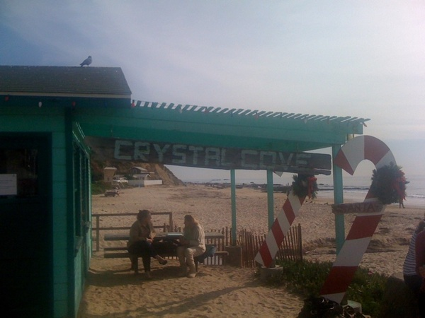 Holidays on the beach. Crystal Cove Beach. #SoCaltweet