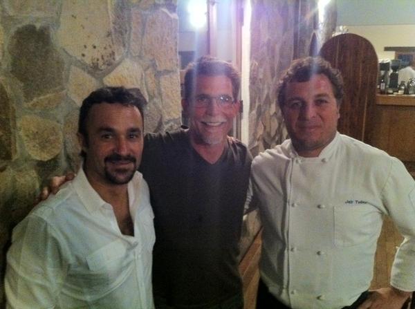 Last Location: Laja gardens&resto in Valle de Guad w Chef Jair Tellez&partner/wine maker Andrés