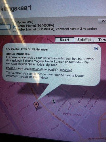 @tmobile_webcare ik zal voortaan eerst even op de dekkingskaart kijken. Doen jullie dat ook? ;)