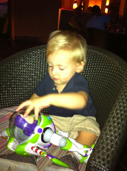 Fletcher of the day:  Buzz lightyear
