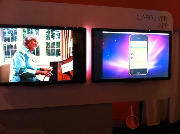 Philips lifeline Caregiver app. The Family network is taking care. Great solution #PhilipsInnovation