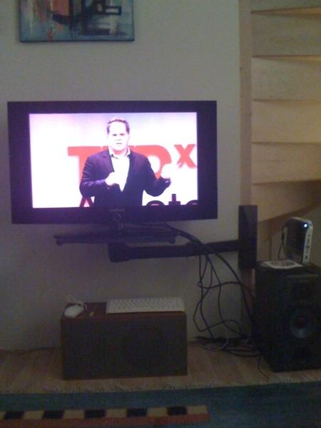 Watching #TEDxAMS
