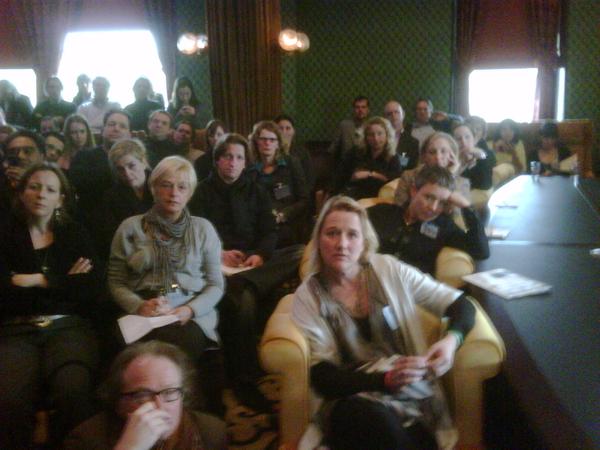 Workshop #hcd2010 zijn lekker bezig