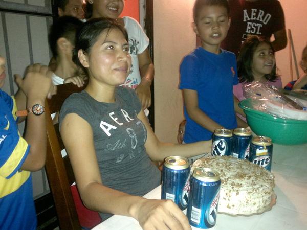 Cumpleaños de la Cuñis Diana
