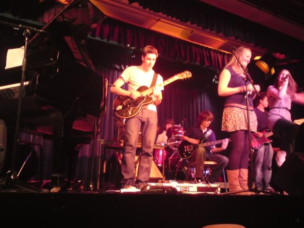 David @Gitaarboy live on stage...