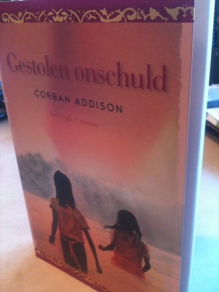 @corbanaddison Look, your book! The Dutch edition (in stores soon)! #gestolenonschuld