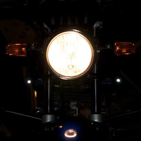 """installed my High Power LEDs giving more visibility - now let's hear them say - """"oh sorry, mate! I didn't see ya!"""" :("""